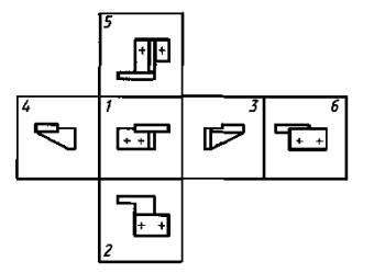 ЕСКД. Правила нанесения на чертежах надписей, технических