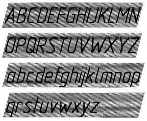 Гост 2 304 81 ескд шрифты чертежные