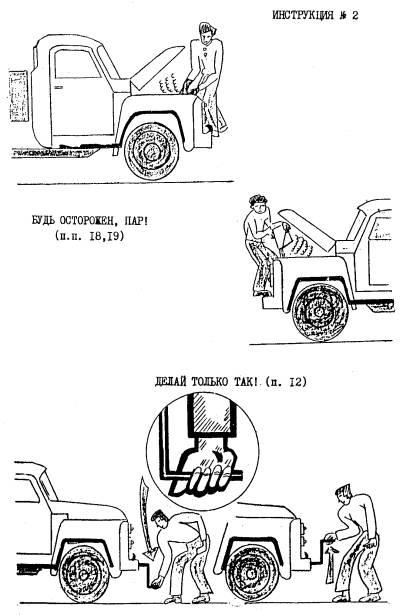 Инструкция по охране труда при работе в гараже