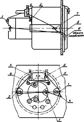 камаз 53605 схема тормозной системы
