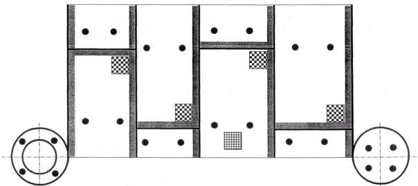 Схема расположения мест, видов
