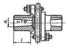 ГОСТ 25021-93 Муфты упругие с промежуточным диском. Параметры и размеры