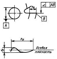 борфреза сфера d 3x2,5x3x75