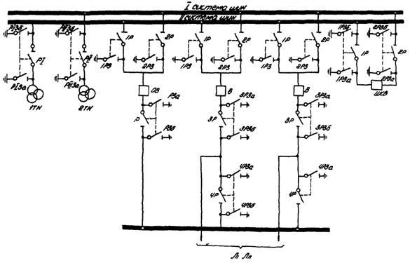 Схема распределительного