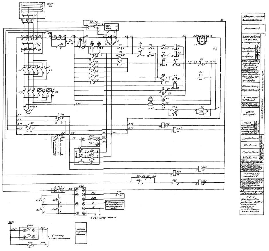 Привод рпн рс-4 схема