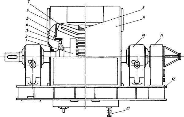Электродвигатель с водяным