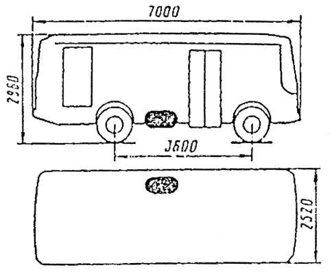 1988 г. на базе ПАЗ-3205.