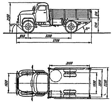 автомобиль ГАЗ-52-07