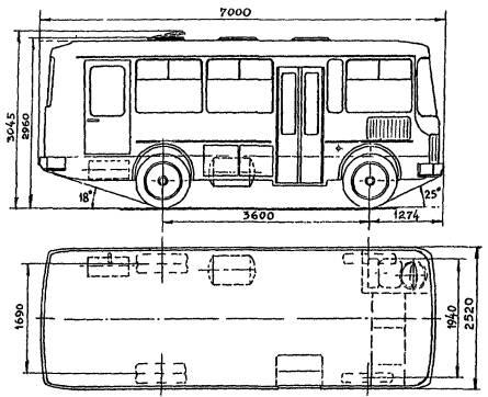 автобус ПАЗ-3205-10