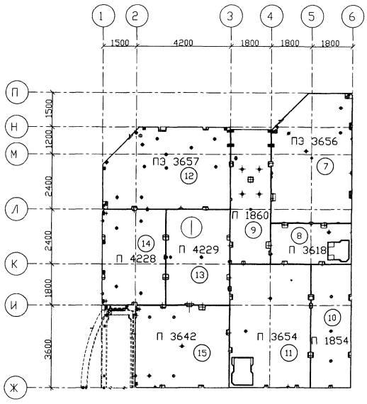 Схема монтажа перекрытия этажа