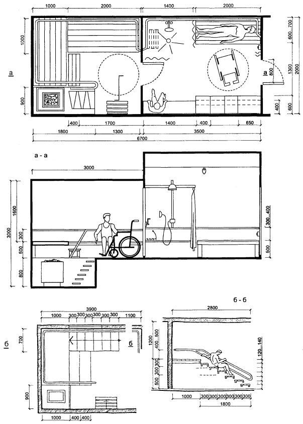 Справочное пособие к СНиП 2080289 Проектирование бассейнов