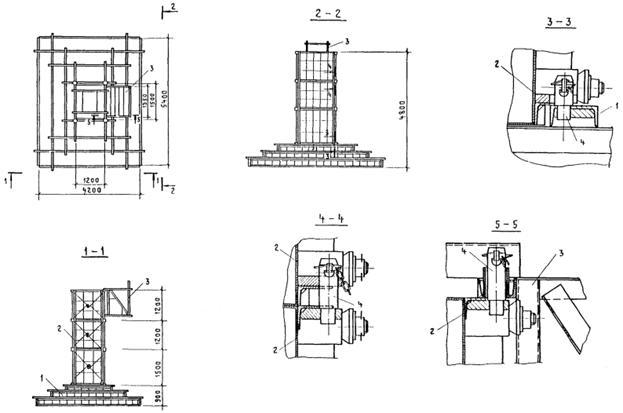 Устройство монолитных железобетонных фундаментов плита ребристая пг размеры